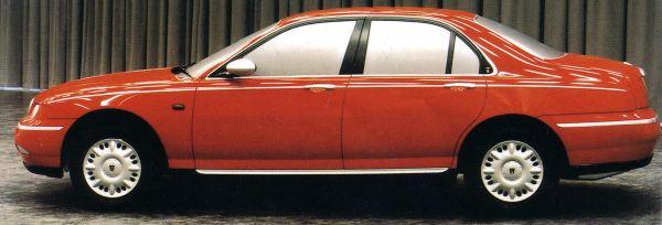 The Ultimate Rover 75 Website - Das Projekt Rover R40 und seine ...